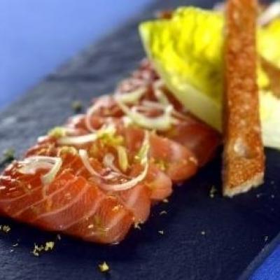 Recette e13922 gravlax de saumon
